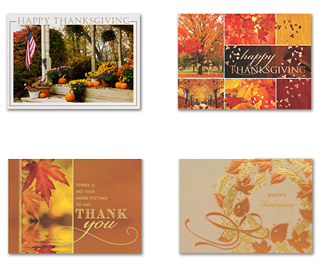 Corporate Thanksgiving Cards